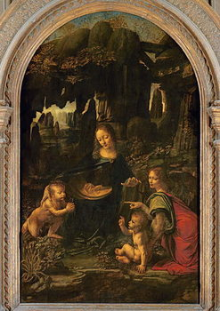 Fine Art Print Madonna of the Rocks, c.1478