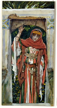 Fine Art Print Mary Magdalene before her Conversion, illustration for 'The Life of Christ', c.1886-96