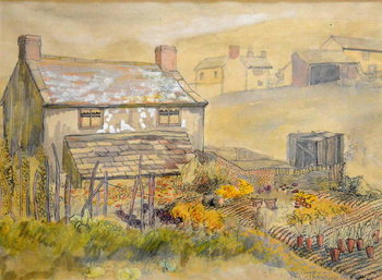 Fine Art Print Moorland Cottage,2014