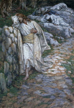 Fine Art Print My Soul Is Exceeding Sorrowful Unto Death, illustration for 'The Life of Christ', c.1884-96