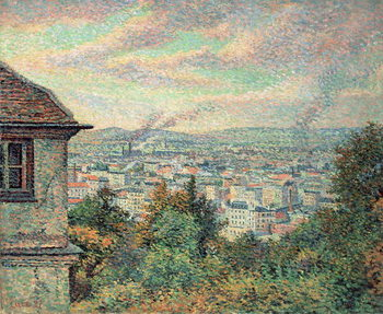 Fine Art Print  Paris, View of Montmartre