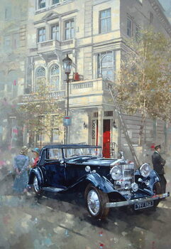 Fine Art Print Phantom II into Queens Gate Mews
