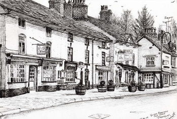 Fine Art Print  Post office Prestbury, 2009,