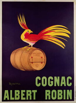 Fine Art Print Poster advertising 'Albert Robin Cognac'