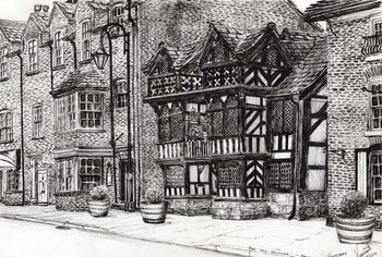Fine Art Print  Prestbury NatWest Bank, 2009,