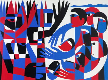 Fine Art Print Quaker Peace Testimony, 1987