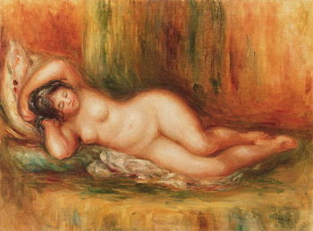 Fine Art Print  Reclining bather