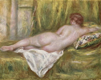 Fine Art Print Reclining Nude from the Back, Rest after the Bath, c.1909