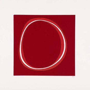 Fine Art Print Red Circle