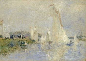 Fine Art Print Regatta at Argenteuil, 1874