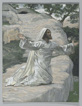 Fine Art Print  Saint James the Less, illustration from 'The Life of Our Lord Jesus Christ', 1886-94