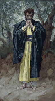 Fine Art Print Saint Matthew, illustration for 'The Life of Christ', c.1886-94