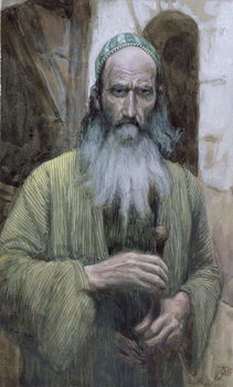 Fine Art Print Saint Paul, illustration for 'The Life of Christ', c.1886-94