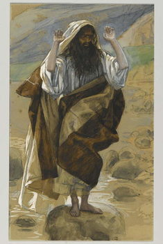 Fine Art Print  Saint Thaddeus, illustration from 'The Life of Our Lord Jesus Christ'
