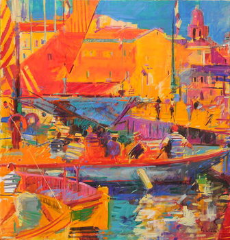 Fine Art Print Saint-Tropez in May, 2020