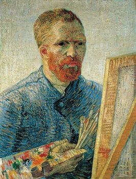 Fine Art Print Self Portrait as a Painter, 1888