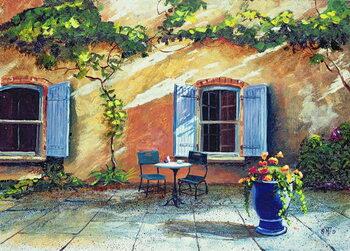 Fine Art Print Shuttered Windows, Provence, France, 1999