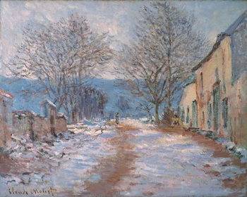 Fine Art Print Snow in Limetz; Effet de neige a Limetz, 1886