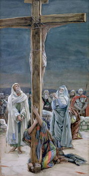 Fine Art Print  Stabat Mater. Woman Behold Thy Son, illustration for 'The Life of Christ', c.1884-96