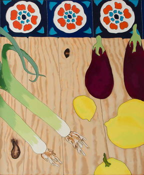 Fine Art Print Still life with Leeks, 2010,