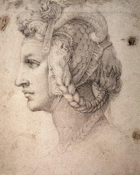 Fine Art Print  Study of Head