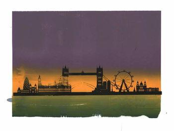 Fine Art Print Sunset on London
