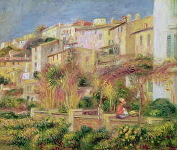 Fine Art Print Terrace in Cagnes, 1905