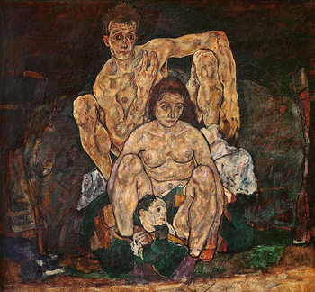 Fine Art Print  The Family, 1918