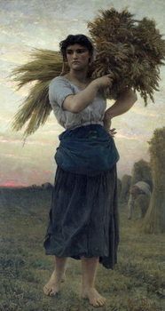 Fine Art Print The Gleaner, 1877
