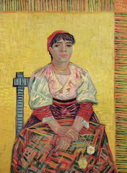 Fine Art Print The Italian: Agostina Segatori, 1887