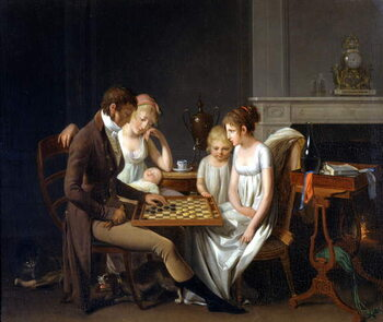 Fine Art Print The Ladies Part Painting by Louis Leopold Boilly, 1803 Paris Fondation Cailleux