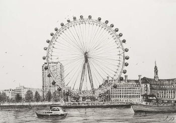 Fine Art Print The London Eye, 2006,