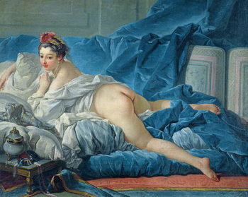 Fine Art Print  The Odalisque, 1745