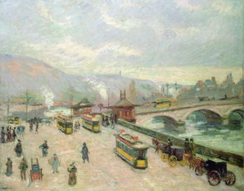Fine Art Print The Pont Corneille at Rouen, 1898