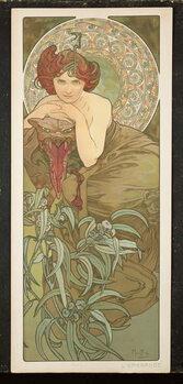 Fine Art Print The Precious Stones: Emerald