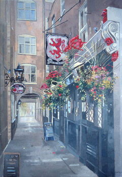 Fine Art Print The Red Lion, Crown Passage, St. James's, London