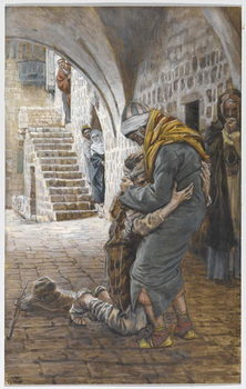 Fine Art Print The Return of the Prodigal Son, illustration for 'The Life of Christ', c.1886-96
