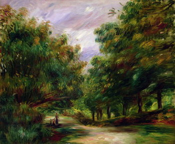 Fine Art Print The road near Cagnes, 1905