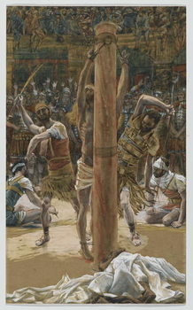 Fine Art Print The Scourging on the Back, illustration from 'The Life of Our Lord Jesus Christ', 1886-94