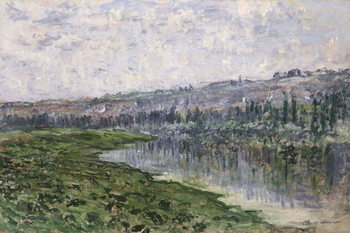 Fine Art Print  The Seine and the Hills of Chantemsle; La Seine et les Coteaux de Chantemsle, 1880