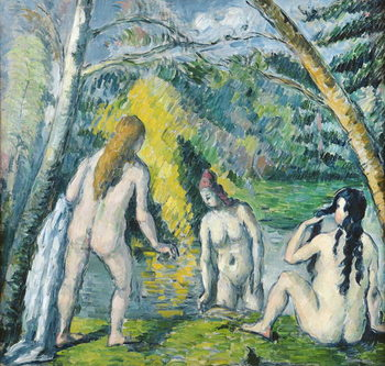 Fine Art Print  The Three Bathers, c.1879-82