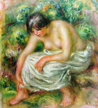 Fine Art Print The toilet after the bath, 1915