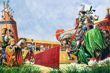 Fine Art Print  The Tournament
