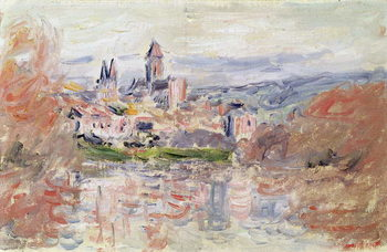 Fine Art Print  The Village of Vetheuil, c.1881