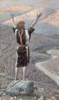 Fine Art Print The Voice in the Desert, illustration for 'The Life of Christ', c.1886-96