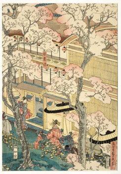 Fine Art Print True View of the Pleasure Houses of Miyosaki
