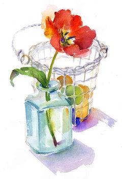 Fine Art Print Tulip with Egg basket, 2014,