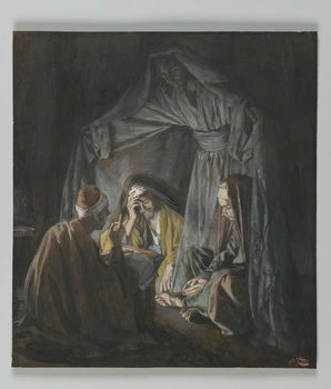 Fine Art Print Two or Three Gathered in my Name, illustration from 'The Life of Our Lord Jesus Christ'