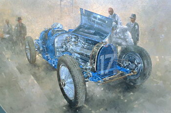 Fine Art Print Type 59 Grand Prix Bugatti, 1997
