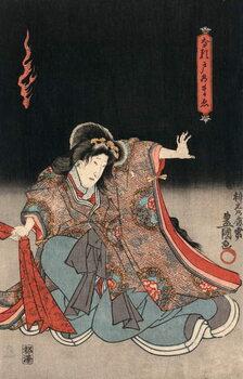 Fine Art Print Ukiyo-e Print of an Actor in a Female Role by Kunisada